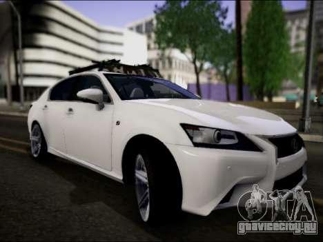 Lexus GS 350 для GTA San Andreas