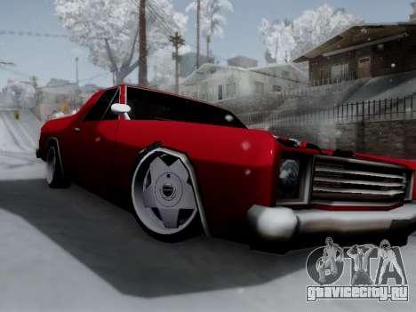 Picador V8 Picadas для GTA San Andreas вид слева