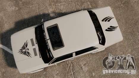 Fiat 124 Tuning для GTA 4 вид справа