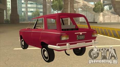 Fiat 1500 Familiar для GTA San Andreas вид сзади