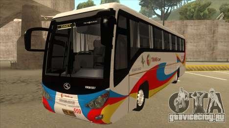 Kinglong XMQ6126Y - GL Trans 559 для GTA San Andreas