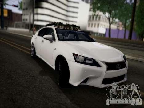 Lexus GS 350 для GTA San Andreas вид справа