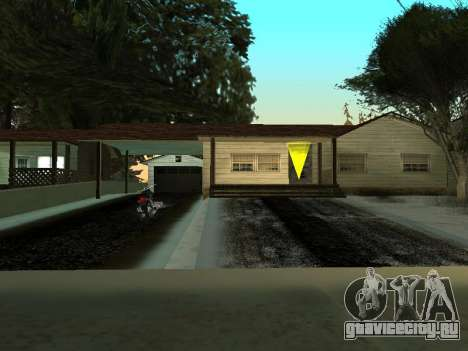 Зима v1 для GTA San Andreas пятый скриншот