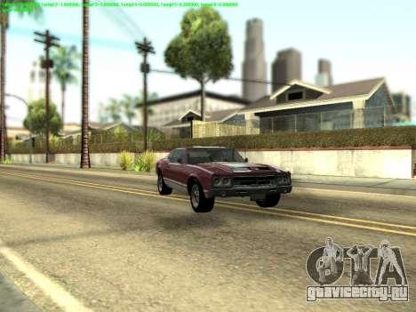 ENBSeries by Krivaseef v2.0 для GTA San Andreas второй скриншот