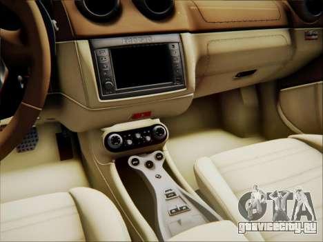 Ferrari California 2009 для GTA San Andreas колёса