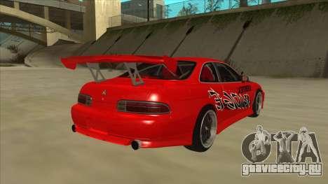 Toyota Soarer JZZ30 Vertex Ridge для GTA San Andreas вид справа