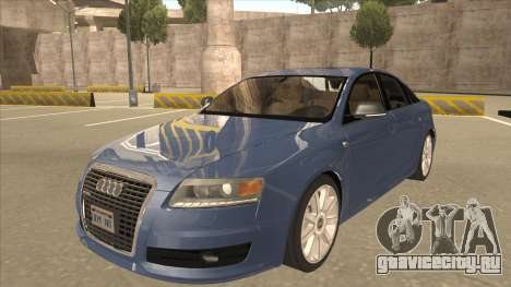 2010 Audi A6 4.2 Quattro для GTA San Andreas