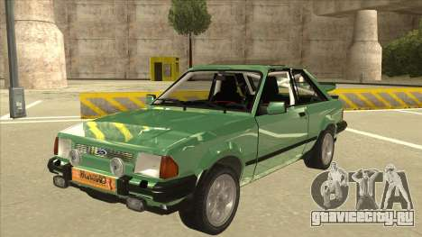 Ford Escort XR3 With Cosworth Spoiler для GTA San Andreas
