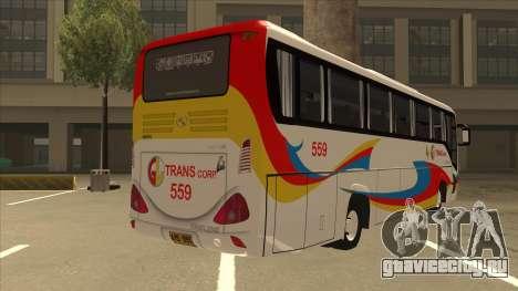Kinglong XMQ6126Y - GL Trans 559 для GTA San Andreas вид справа
