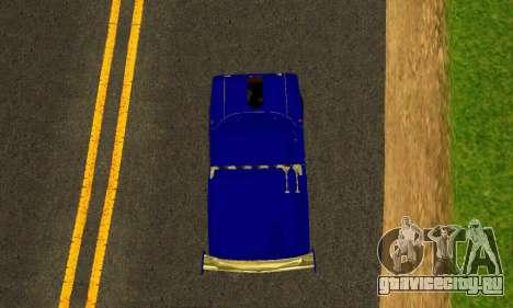 ИЖ 2715 Novosib Tuning для GTA San Andreas вид изнутри