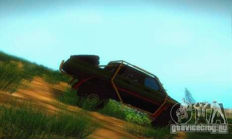УАЗ Патриот Пикап для GTA San Andreas вид сзади слева