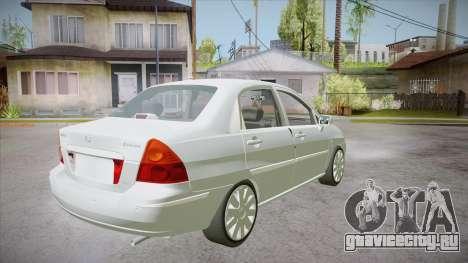 Suzuki Liana 1.3 GLX 2002 для GTA San Andreas вид справа
