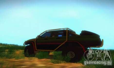 УАЗ Патриот Пикап для GTA San Andreas вид слева