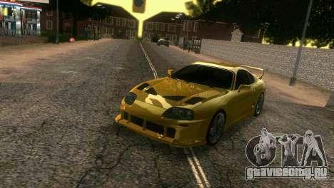 Toyota Supra TRD для GTA Vice City вид сбоку
