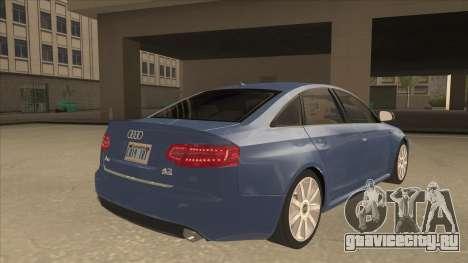 2010 Audi A6 4.2 Quattro для GTA San Andreas вид справа