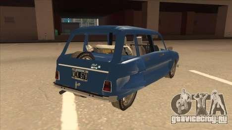Citroën Ami 8 для GTA San Andreas вид справа