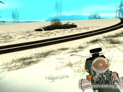 Зима v1 для GTA San Andreas десятый скриншот