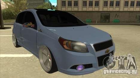 Chevrolet Aveo LT для GTA San Andreas вид слева