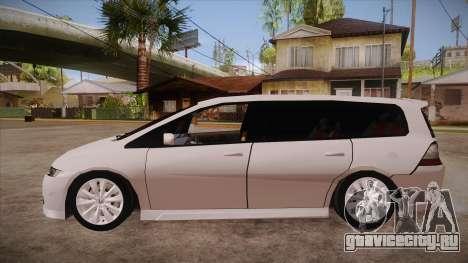 Honda Odyssey v1.5 для GTA San Andreas вид слева