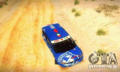 Fiat Panda Rally для GTA San Andreas вид сбоку