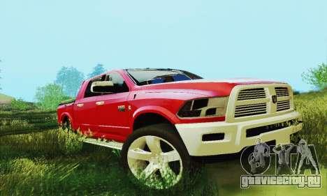 Dodge Ram 2500 HD для GTA San Andreas вид сбоку