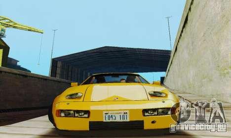 Porsche 928 (1986) v1.1 для GTA San Andreas вид сзади