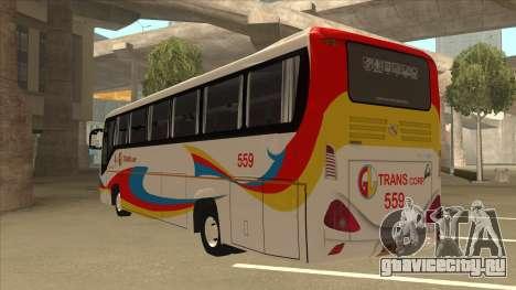 Kinglong XMQ6126Y - GL Trans 559 для GTA San Andreas вид сзади