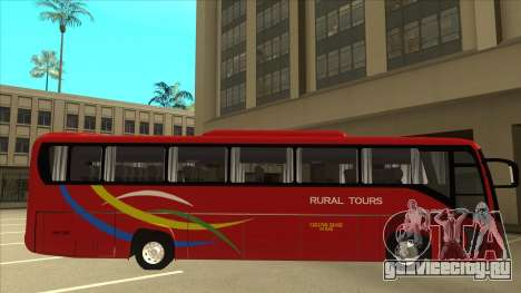 KINGLONG XMQ6126Y - Rural Tours 2780 для GTA San Andreas вид сзади слева