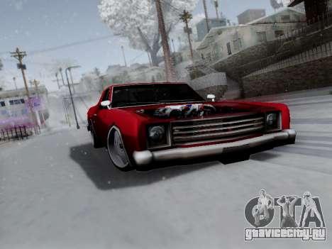 Picador V8 Picadas для GTA San Andreas вид изнутри