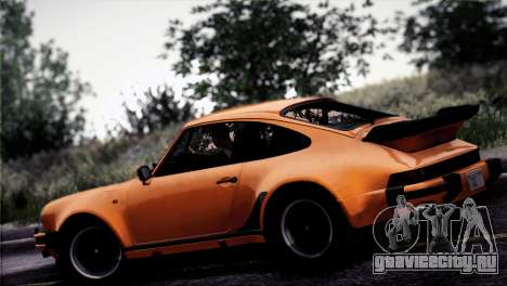 Porsche 911 Turbo 3.3 Coupe 1982 для GTA San Andreas вид снизу