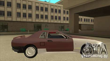 Elegy Drift Missile для GTA San Andreas вид сзади слева