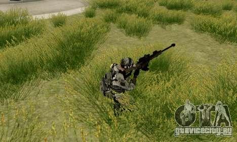 Barrett M82 из Battlefield 4 для GTA San Andreas четвёртый скриншот