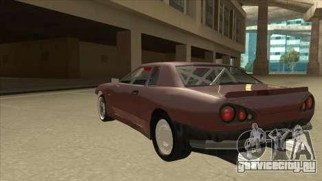 Elegy Drift Missile для GTA San Andreas вид сзади