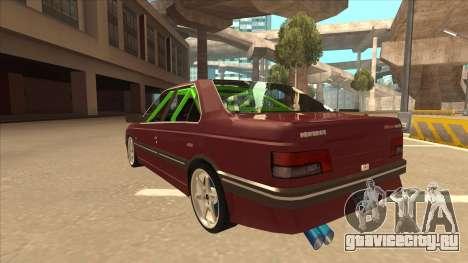 Peugeot 405 ami16 X4 для GTA San Andreas вид сзади