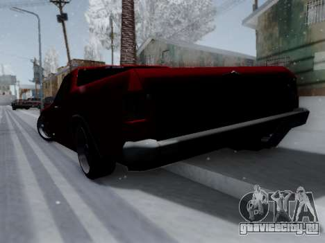 Picador V8 Picadas для GTA San Andreas вид справа