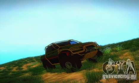 УАЗ Патриот Пикап для GTA San Andreas
