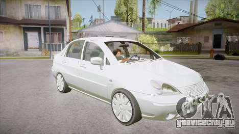Suzuki Liana 1.3 GLX 2002 для GTA San Andreas вид сзади