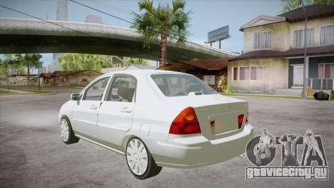 Suzuki Liana 1.3 GLX 2002 для GTA San Andreas вид сзади слева