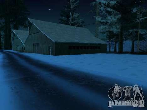 Зима v1 для GTA San Andreas четвёртый скриншот