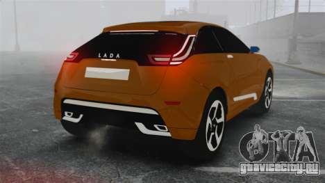 Lada XRay Concept для GTA 4 вид сзади слева