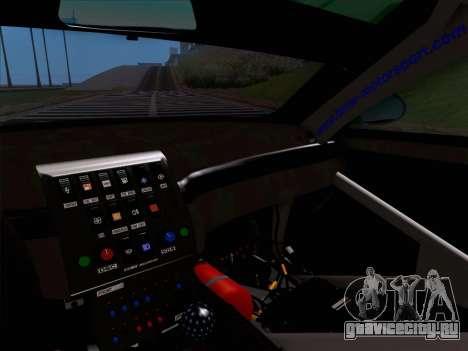 BMW M3 E46 GTR для GTA San Andreas вид сверху