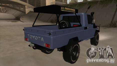 Toyota Machito Pick Up 2009 для GTA San Andreas вид справа