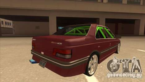Peugeot 405 ami16 X4 для GTA San Andreas вид справа