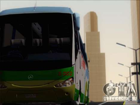 Irizar Mercedes Benz MQ2547 Super Five S 002 для GTA San Andreas двигатель