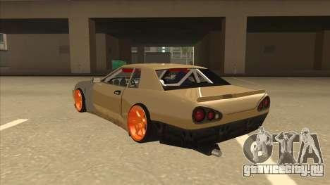 Elegy K22 King Swap для GTA San Andreas вид сзади