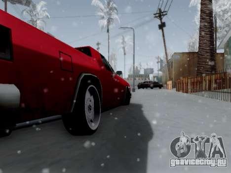 Picador V8 Picadas для GTA San Andreas вид сзади