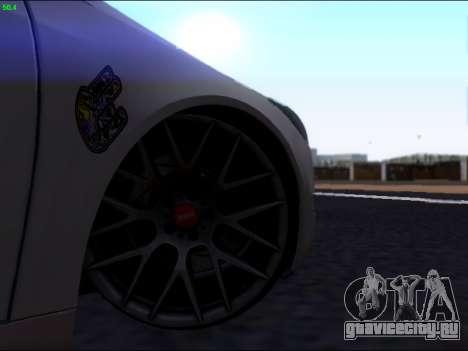 Opel Insignia для GTA San Andreas вид сверху