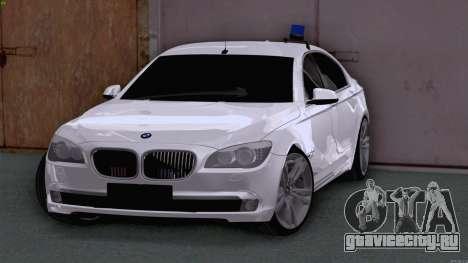 BMW 750i ФСБ для GTA San Andreas вид слева