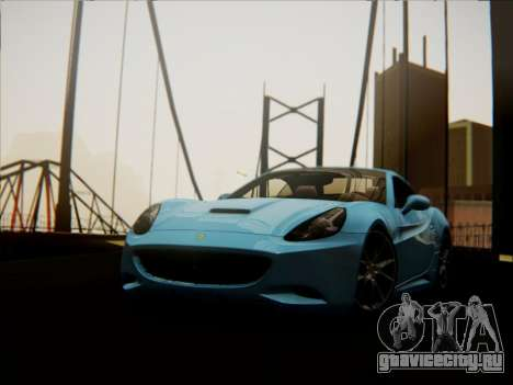 Ferrari California 2009 для GTA San Andreas вид справа