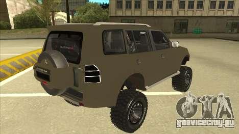 Mitsubishi Montero EDVARD [ERICK] для GTA San Andreas вид справа